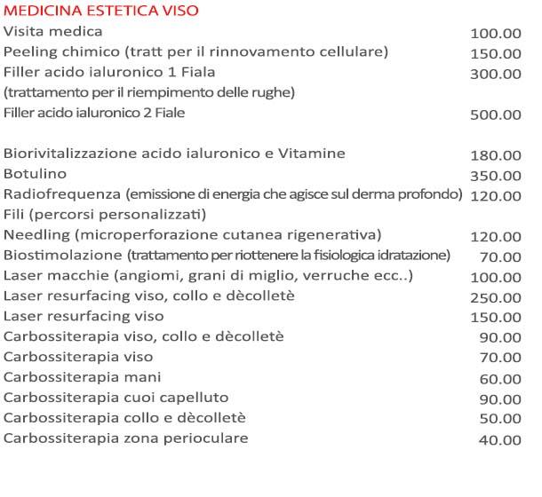 listino-medicina-estetica-viso