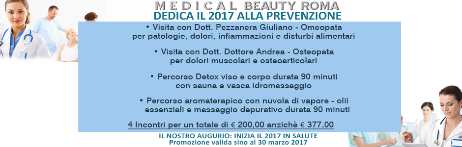 Dedica il 2017 alla prevenzione